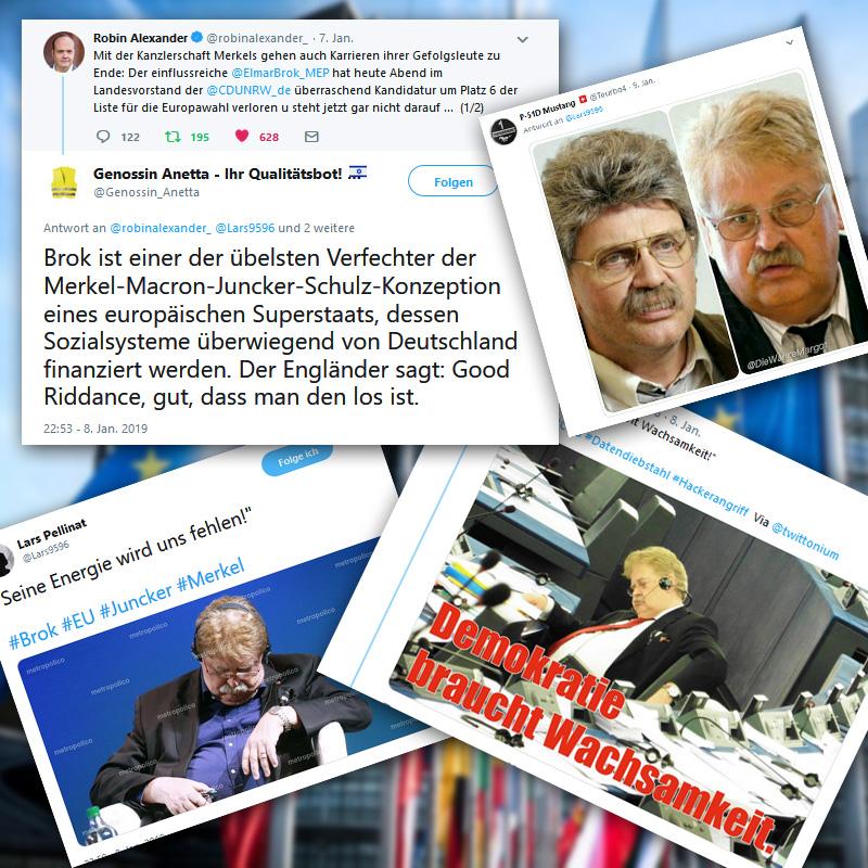 Der Typ fault seit 40 Jahren im #EU-Parlament ab_Sein Erfolgsgeheimnis: ???????????? #brok #eu #euparlament #Date:01.2019#