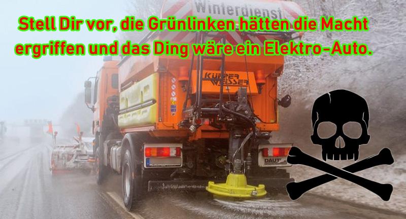 Bild zum Thema #grüne  #klima  #winter #schnee  #elektro  #klimaphobie  #klimawandel  #diesel