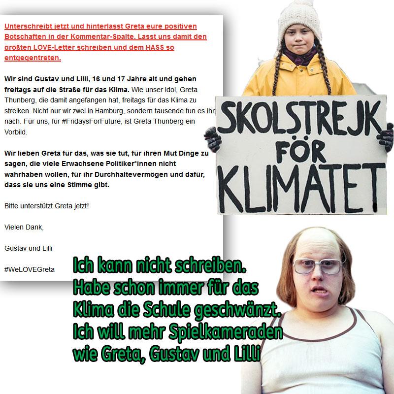 Bild zum Thema Schule schwänzen für das Klima_ #klima #göre #plagen #schule #schwänzen #neunmalkluge #grüne