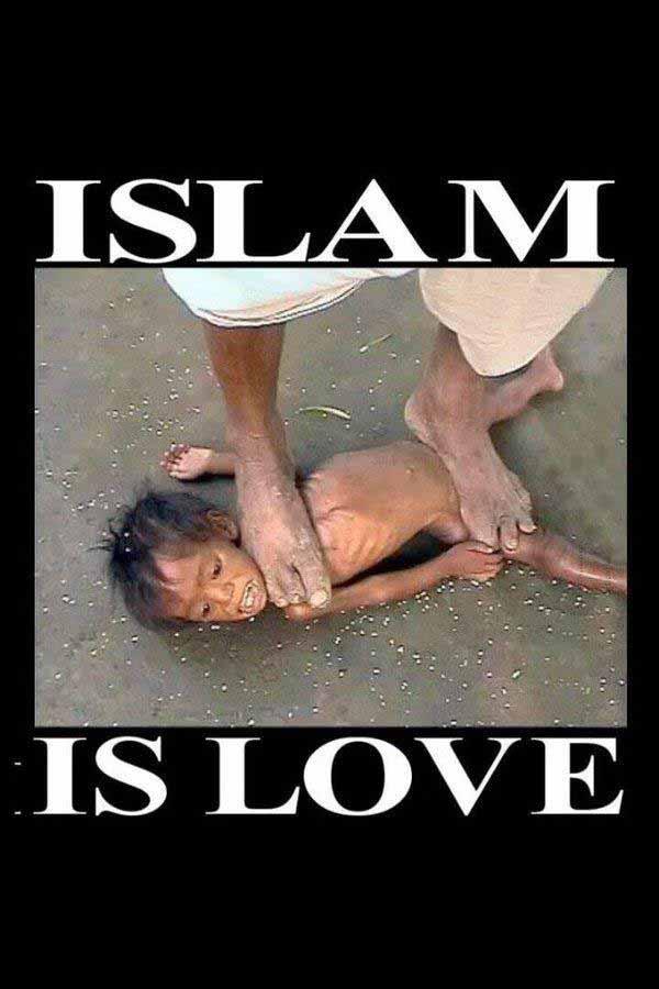 Islam ist Liebe. Aber was sein muss, muss sein, sagen der Scheiß-Koran und die Scheiß-Scharia #Date:01.2016#