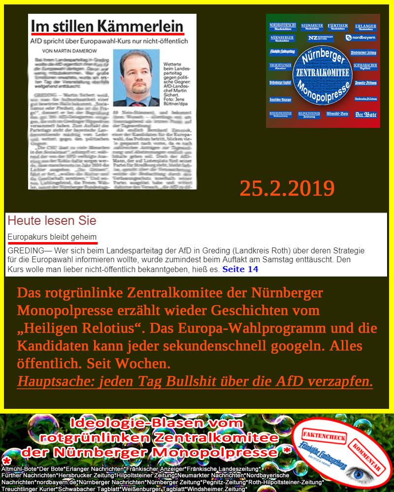 Bild zum Thema Zentralkomitee Nürnberger Monopolpresse_
