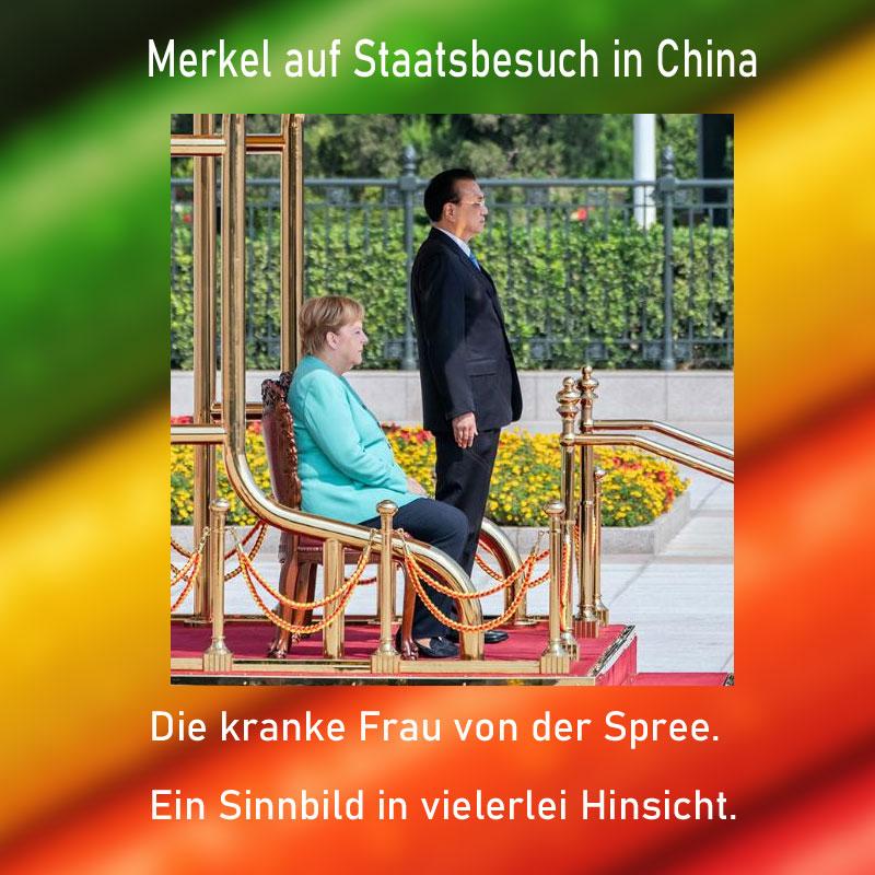 Die kranke Frau Merkel von der Spree #Date:09.2019#