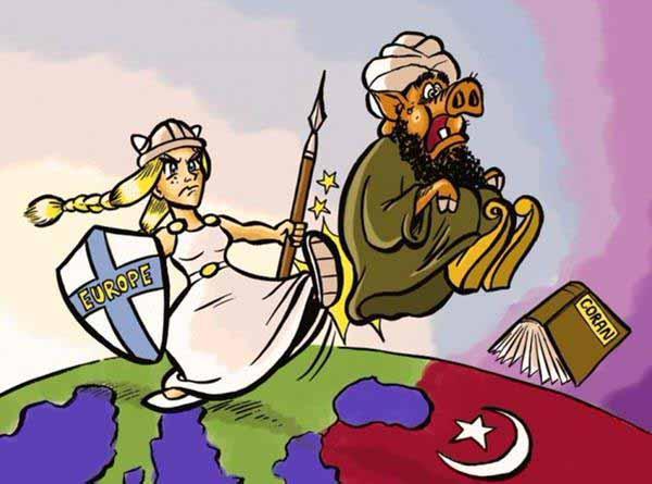 Der Islam soll dorthin, wo er hergekommen ist und das ist nicht Europa #Date:01.2016#