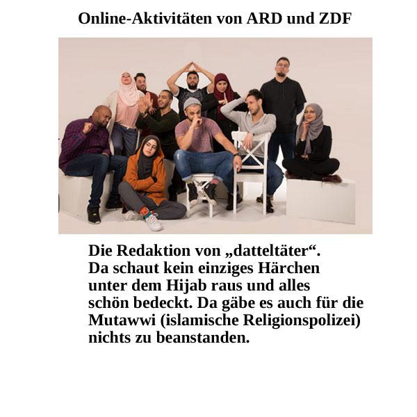 Moslemkanal von ARD und ZDF #Date:09.2019#