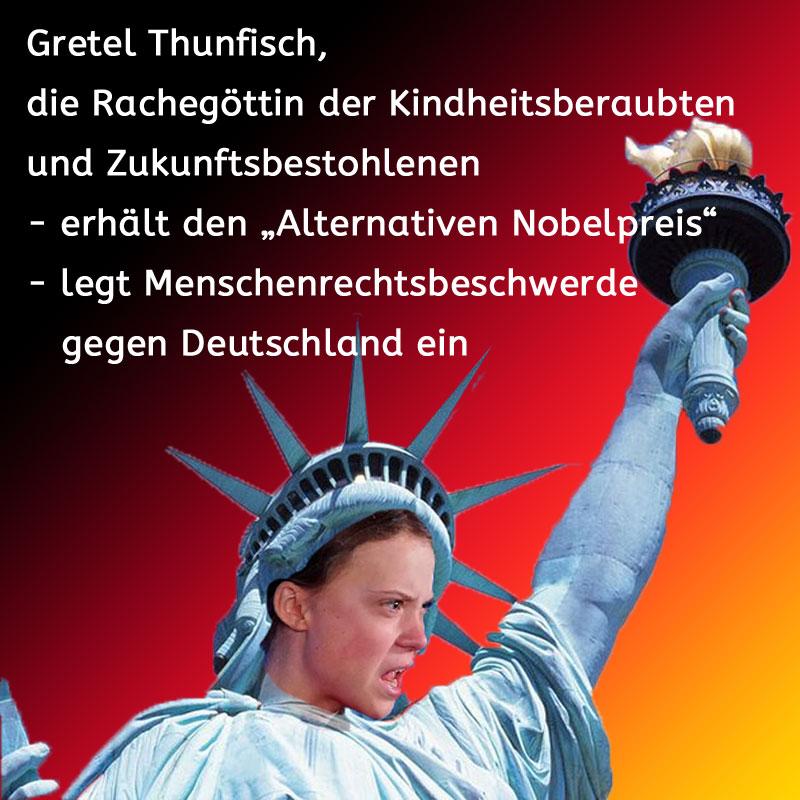 Gretel Thunfisch als Rachegöttin #Date:09.2019#
