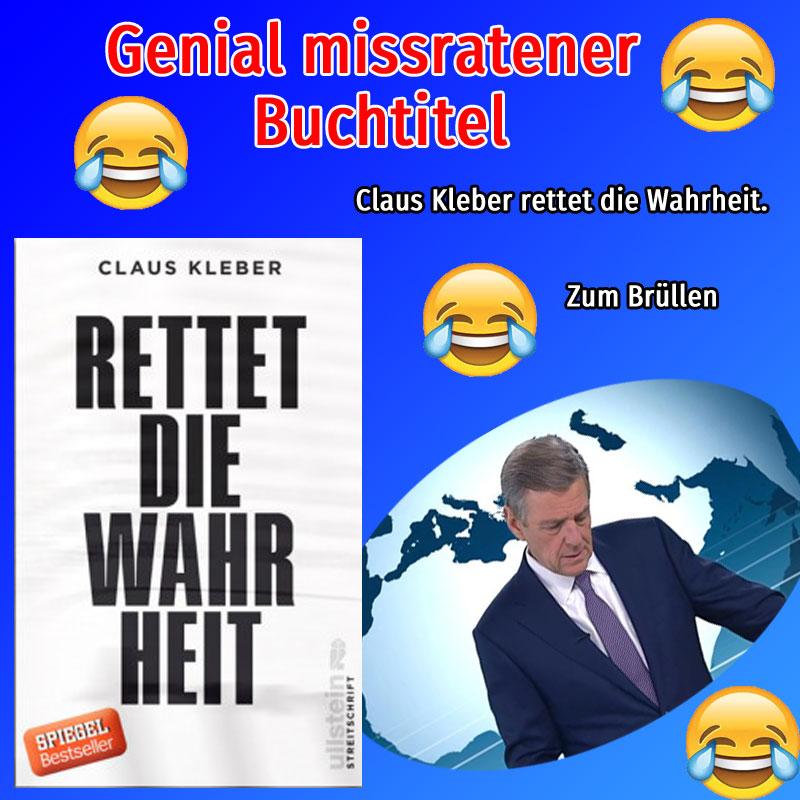 Bild zum Thema #zdf_ddr2 #regierungsfunk #gez  Claus Kleber rettet die Wahrheit