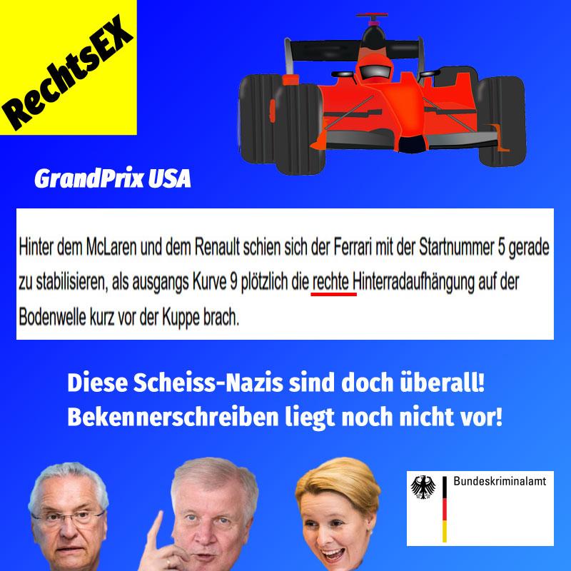 Bild zum Thema Diese Scheiss-#Nazis sind einfach überall #rechtsex  #herrmann  #seehofer  #giffey #bka #bfv