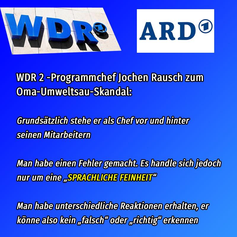 Bild zum Thema #WDR-#Oma-#UmweltSau-Skandal  #klimaintifada