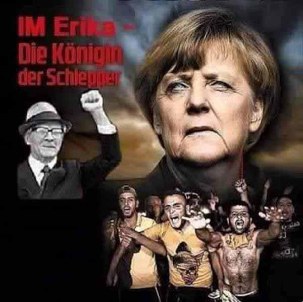 Merkel alias IM Erika – die Königin der Schleuser #Date:12.2015#