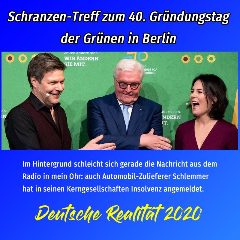 Bild zum Thema #grüne#geburtstag#habeck#steinmeier#baerbock#volksbeschiss#verbotspartei#neanderthaler