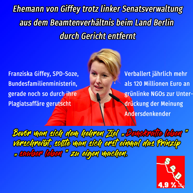 #giffey #spd #demokratie_leben #sauber_leben  #Date:01.2020#