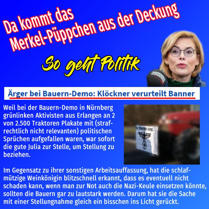 Bild zum Thema #bauerndem #klöckner #landwirtschaft