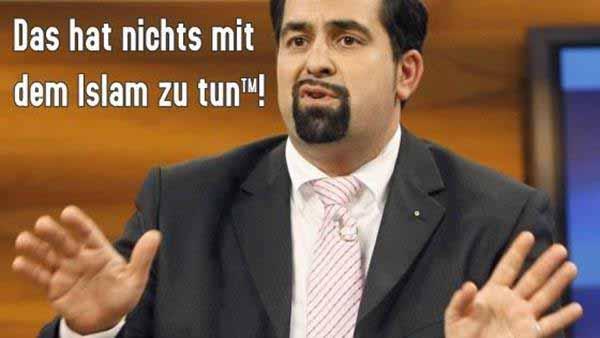 Der  Vorsitzende des Zentralrats der Muslime in Deutschland, Aiman Mazyek – für ihn hat nichts etwas mit dem Islam zu tun #Date:12.2015#