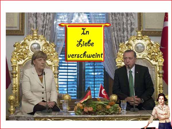 Der Türkei-Deal hebt die Schandtaten von das Merkel endgültig auf die Ebene des Hochverrats an Deutschland. #Date:#