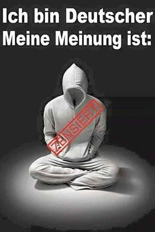 Ich bin Deutscher, Meine Meinung ist zensiert #Date:01.2016#