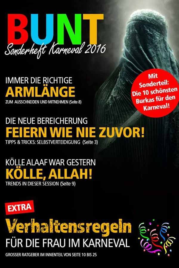 Burka Karneval 2016 in Köln #Date:01.2016#