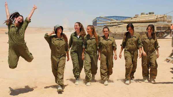 Israelische Soldatinnen. I love them. #Date:01.2016#