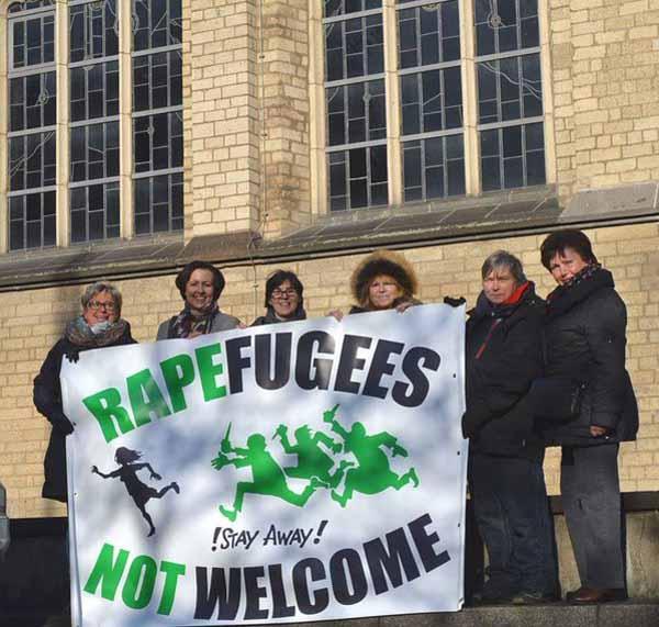 Rapefugees NOT welcome. Für solch eine einfache und simple Aussage braucht man in Deutschland 2016 bereits Mut, Tapferkeit und Zivilcourage. Wie traurig. #Date:01.2016#