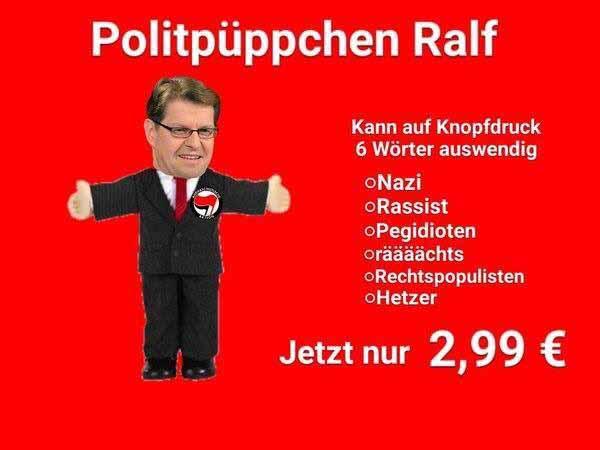 Die Fähigkeiten des SPD-Hetzers Ralf Stegner #Date:01.2016#