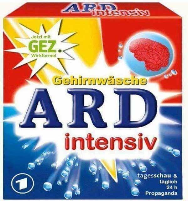 ARD – 24 Stunden täglich Gehirnwäsche für die Zuschauer und Bürger #Date:02.2016#
