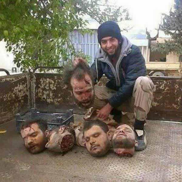 Islam-IS und abgeschnittene Köpfe, so lieben sie es. #Date:12.2015#