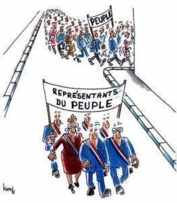 Das Volk biegt ab. Regierung marschiert allein. #Date:02.2016#