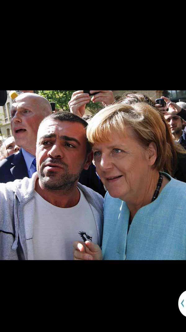 Angela Merkel: Zuerst dachte ich, dass sind seine Finger #Date:02.2016#