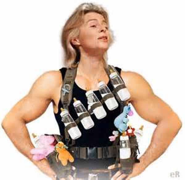 Ursula von der Leyen. Super inkompetente Verteidigungsministerin #Date:02.2016#