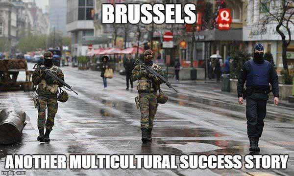 Islam Brüssel – ein weitere Erfolgsstory des Multikulturismus #Date:02.2016#