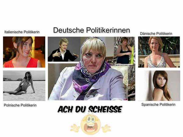 Deutsche, italienische, dänische, polnische, schwedische Politikerin #Date:02.2016#