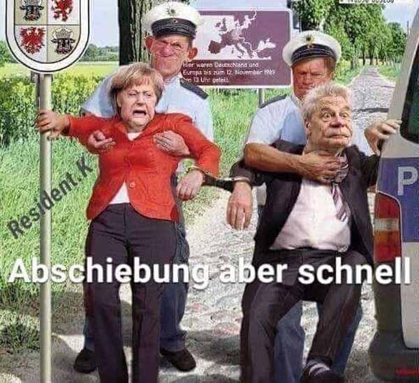 Gauck und Merkel abschieben – aber schnell #Date:02.2016#
