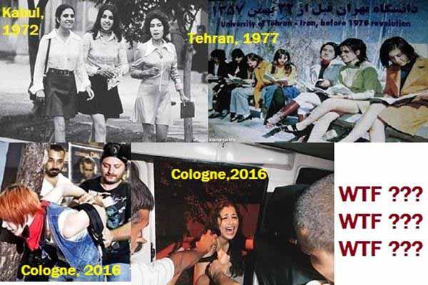 In den 70iger Jahren ging es in einigen arabischen Länder offener zu, als 2016 in Deutschland nach dem Invasoren-Import. #Date:01.2016#