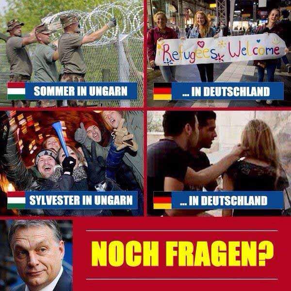 Sommer und Silvester in Deutschland und vergleichsweise in Ungarn #Date:#