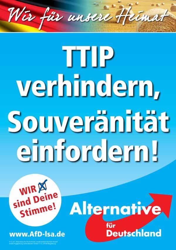 TTIP verhindern, Souveränität einfordern #Date:02.2016#
