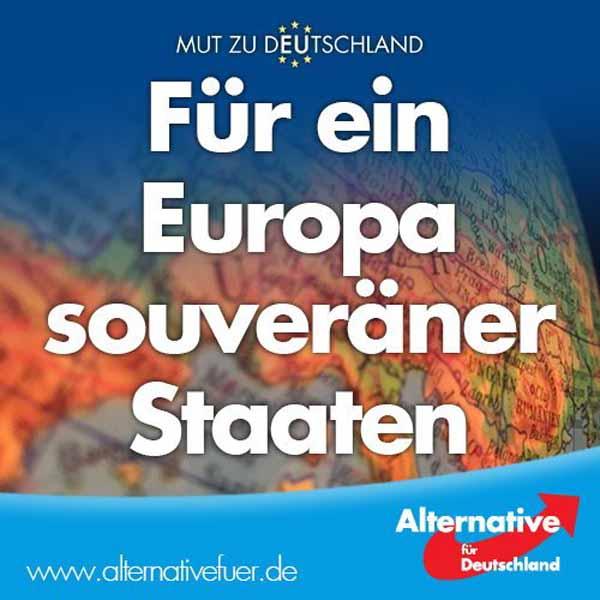 AfD – Für ein Europa souveräner Staaten. #Date:02.2016#