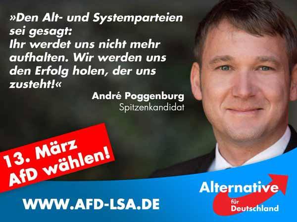 Den Alt- und Systemparteien sei gesagt: Ihr werdet uns nicht mehr aufhalten. #Date:02.2016#
