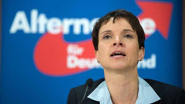 AfD-Bundesvorsitzende Dr. Frauke Petry #Date:02.2016#