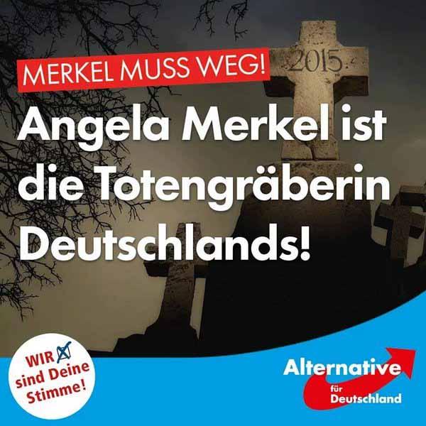 Angela Merkel ist die Totengräberin Deutschlands #Date:02.2016#