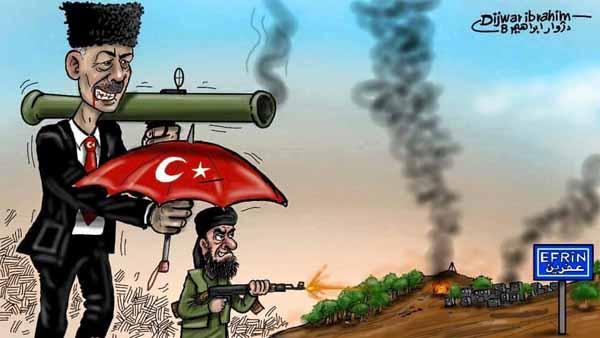 Türkei unterstützt Al Quaida beim Kampf gegen Kurden #Date:02.2016#