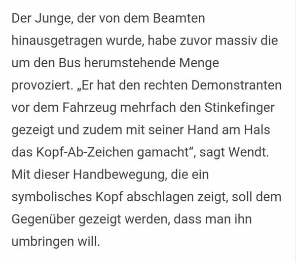 Der friedliche Mob von Clausnitz und der Jung-Djihadist. #Date:02.2016#