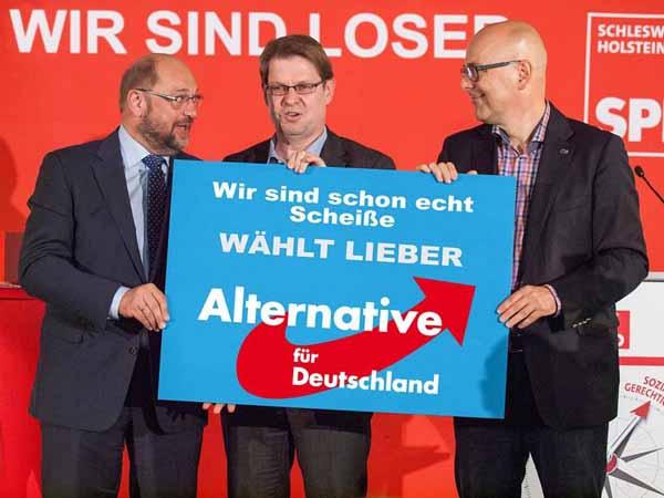 SPD - wir sind Loser, wählt lieber AfD #Date:02.2016#