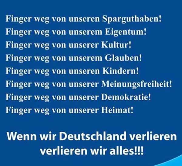 Wenn wir Deutschland verlieren, verlieren wir alles. #Date:02.2016#