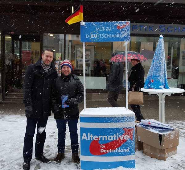 AfD Thüringen unterstützt den Wahlkampf in Baden-Württemberg #Date:02.2016#