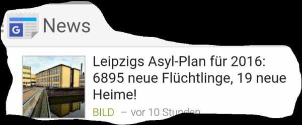 Leipzig erhält 19 neue Asylheime. Was ist mit unseren maroden Schulen und fehlenden Kindergärten??? #Date:02.2016#