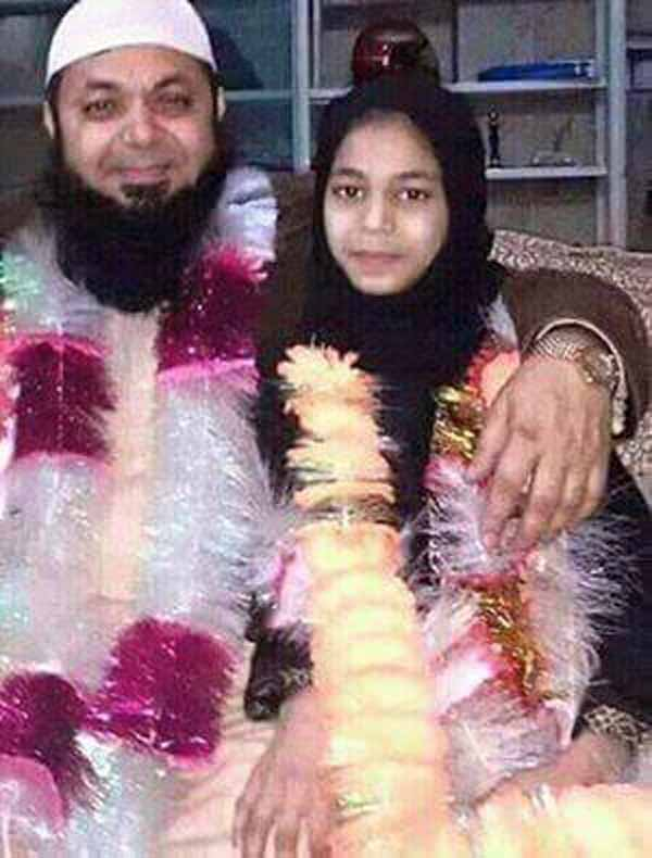 Maulvi, 57 Jahre, heiratet 12-Jährige in Pakistan. Immer noch besser als Muhammad. Der heiratet 6-Jahrige. #Date:02.2016#