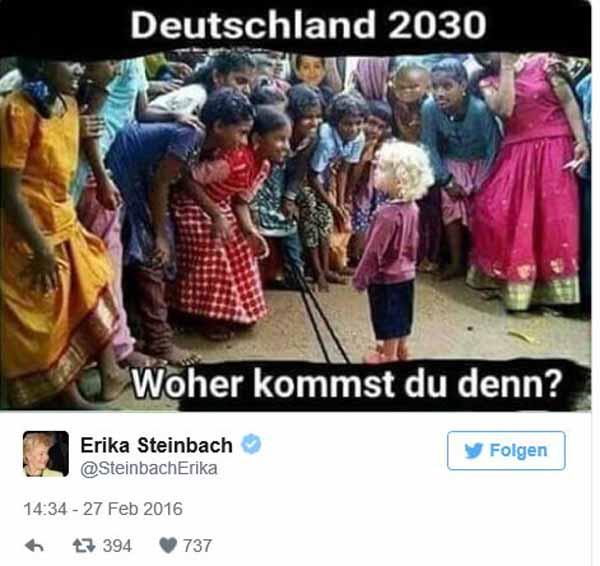 Deutschland 2030. Einsames blondes Kind wird neugierig beguckt. #Date:02.2016#