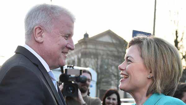Seehofer (CSU) und Klöckner (CDU) halten erweiterte Sozialleistungen für Deutsche für Schnapsidee #Date:02.2016#