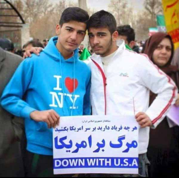 Moslem Vollidioten: I love  New York. Down with USA #Date:02.2016#