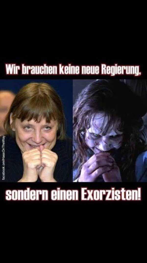 Wir brauchen keine neue Regierung, wir brauchen einen Exorzisten. #Date:02.2016#