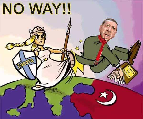 Europa sollte sich nicht von den Türken abhängig machen. Merkel begeht Hochverrat #Date:03.2016#